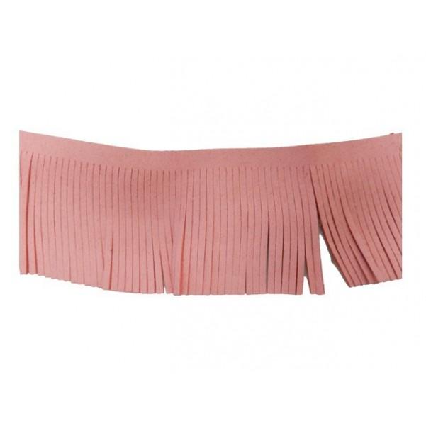 Antelina flecos 60mm rosa
