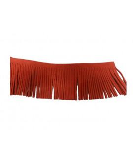 Antelina flecos 60 mm rojo.