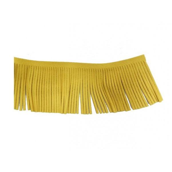 Antelina flecos 60mm amarillo