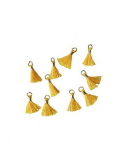 Borlas mini dorada +Colores