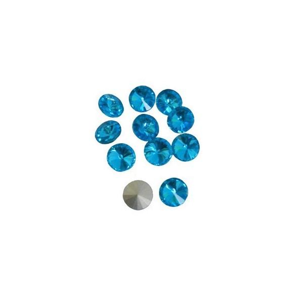 Rivoli cristal 12mm.+Colores