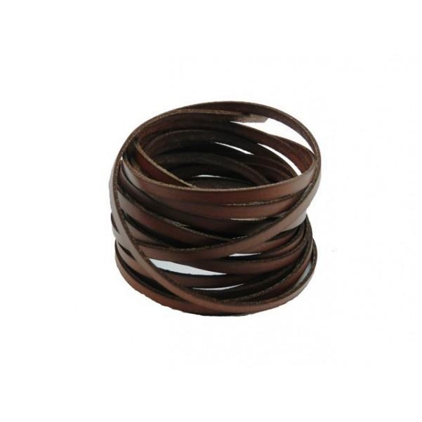 Lato 5mm marrón