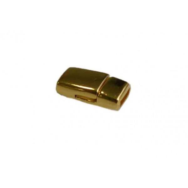 Cierre magnético para cordón plano de 5mm.+Baños.
