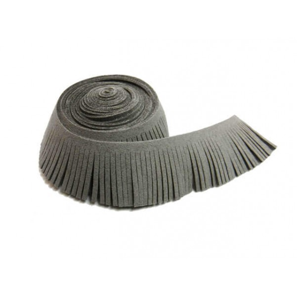Antelina flecos 60 mm gris.