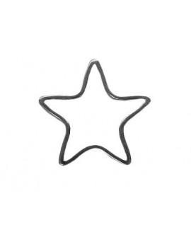 Colgante estrella 21mm.