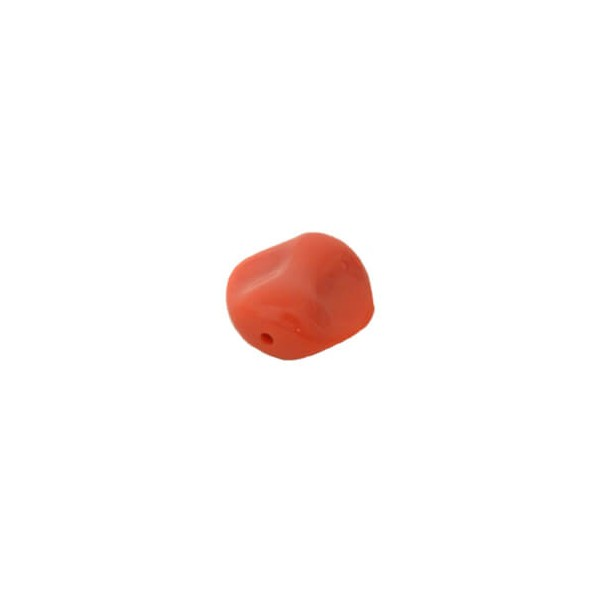 Piedra irregular coral 30mm